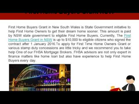 First Home Buyers Grant in Australia