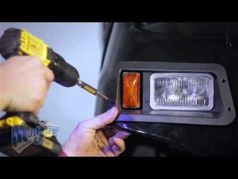 Light Kit designed for Yamaha® G22® | How to Install Video | Madjax® Golf Cart Accessories