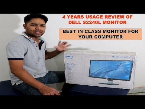 DELL S2240L LED MONITOR 4 YEARS USAGE REVIEW