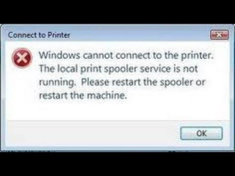 How To Enable  Print Spooler Service For Windows 8.1 Windows 8 Windows 7 Windows XP
