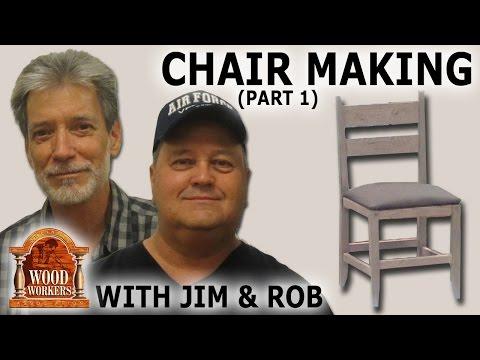 Chair Making by Jim Dion, Rob Austin (part 1)