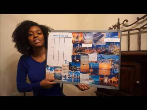 Making A Travel Vision Board With Taste Team