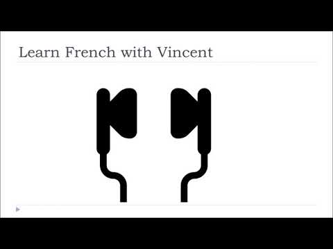 Audio French Vocabulary # The birds