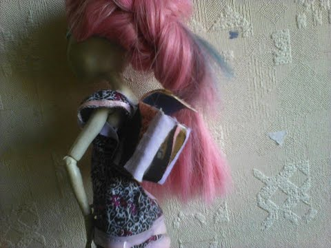How to make school backpack for doll : )