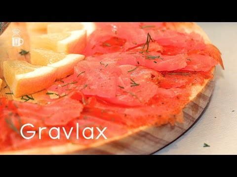 Gravlax - How to make Scandinavian cold cured salmon
