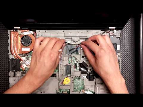 Lenovo ThinkPad T510 disassembly and fan demontage [no audio].