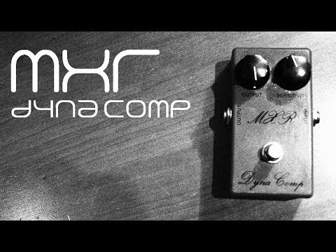 1974 MXR Dyna Comp (Bud Box) Demo
