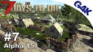 7 Days To Die | Murder Hole Design | 7 Days to Die Gameplay Alpha 15