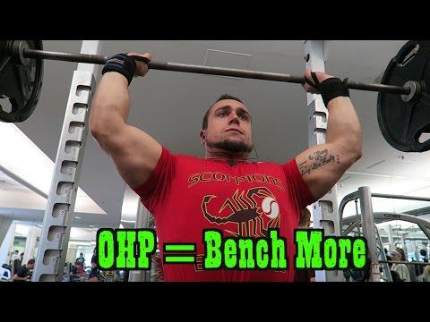 Overhead Press = STRONGER Bench Press