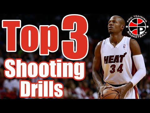 Top 3 Shooting Drills | Shooting Contested Jumpers | Pro Training Basketball