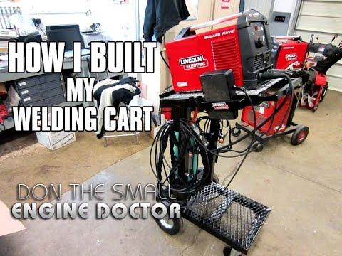 How I Built My Welding Cart