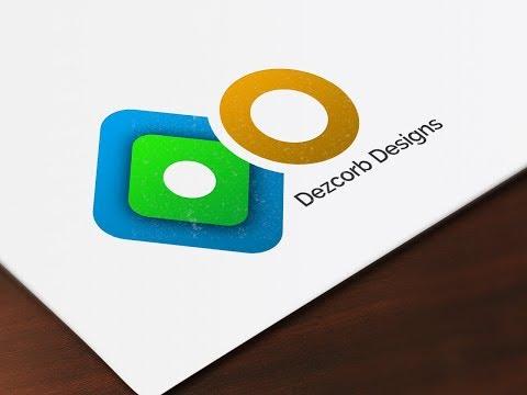 How to design a logo in photoshop cs6  Logo Design Tutorial