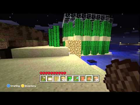 Minecraft Xbox 360 CACTUS HOUSE And CoCoa BEANS