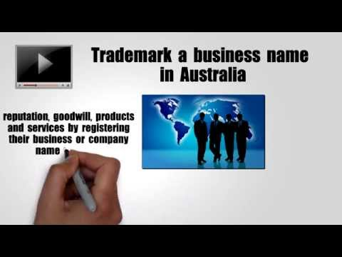 How To Trademark a Business Name in Australia