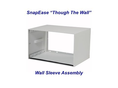 """SnapEase """"Through The Wall"""" Sleeve Assembly"""