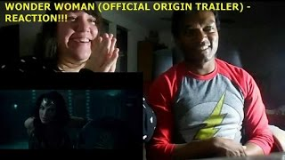 WONDER WOMAN (OFFICIAL ORIGIN TRAILER) - REACTION!!!!