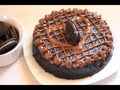 Super Easy Eggless Oreo Cake in Microwave (in 5 minutes!)