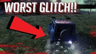 What Is This Glitch!?! (h1z1 Ps4)