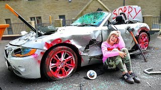 Download Surprising My Mom With A New Car, Then Destroying It... Video