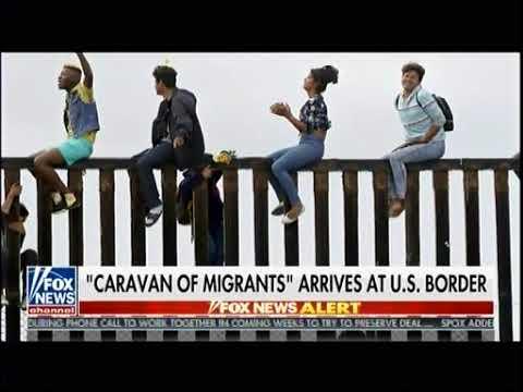 Caravan Of Migrants Arrives At U.S. Border - Fox & Friends
