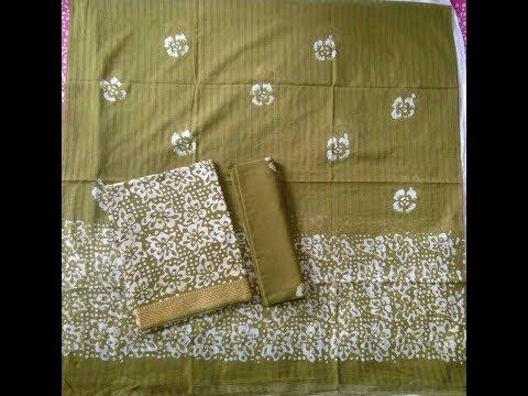 Mangalagiri Cotton Punjabi Suits || Traditional Mangalagiri Punjabi designs Cotton Dress Materials