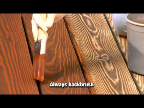 How to Apply a Clear, Toner or Semi-Transparent Wood Stain