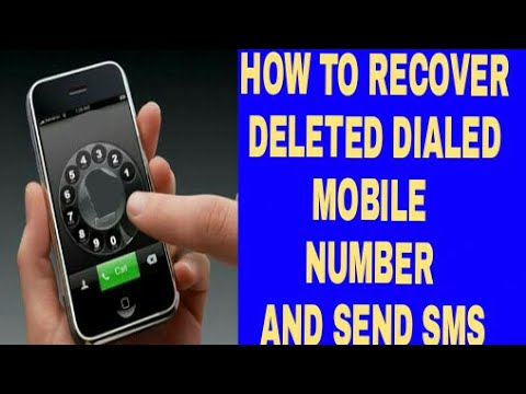 DELETE KIYE HUVE DIALED MOBILE NUMBER OR SMS KESE DEKHE | HOW TO CHECK DELETED CALL NUMBER AND SMS