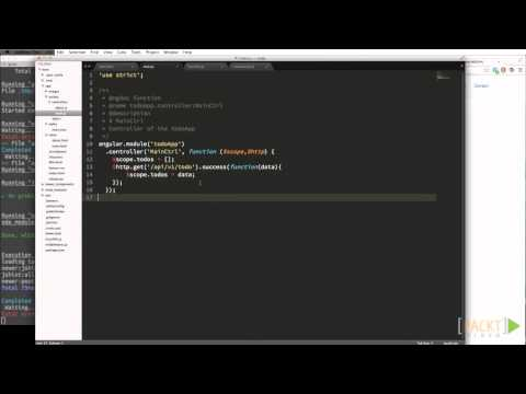 Learning AngularJS Tutorial: GET and POST | packtpub.com