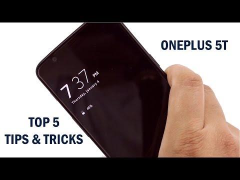 Oneplus 5T Top 5 Best Tips & Tricks (Hidden Features)