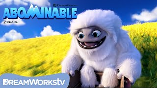 ABOMINABLE | Flower Surfing to Safety [EXCLUSIVE CLIP]