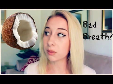 Getting Rid of Bad Breath Using Coconut Oil