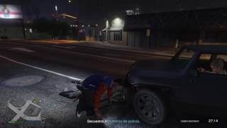 Grand Theft Auto V Disrespect