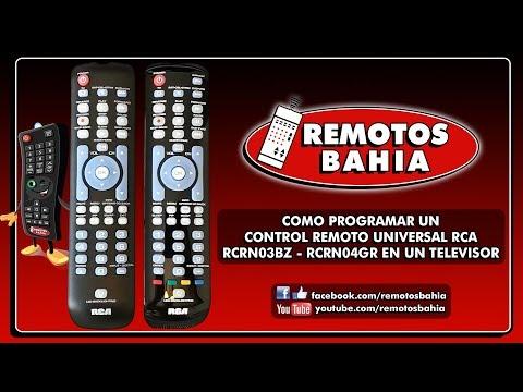 COMO PROGRAMAR UN CONTROL REMOTO UNIVERSAL RCA RCRN03BZ RCRN04GR