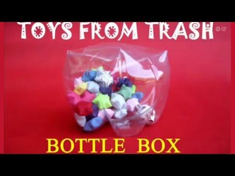 BOTTLE BOX - FRENCH - Box from a Coke Bottle!