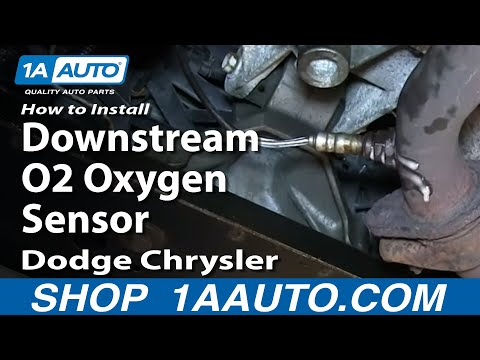 How To Install Replace Downstream O2 Oxygen Sensor 2.7L Dodge Chrysler