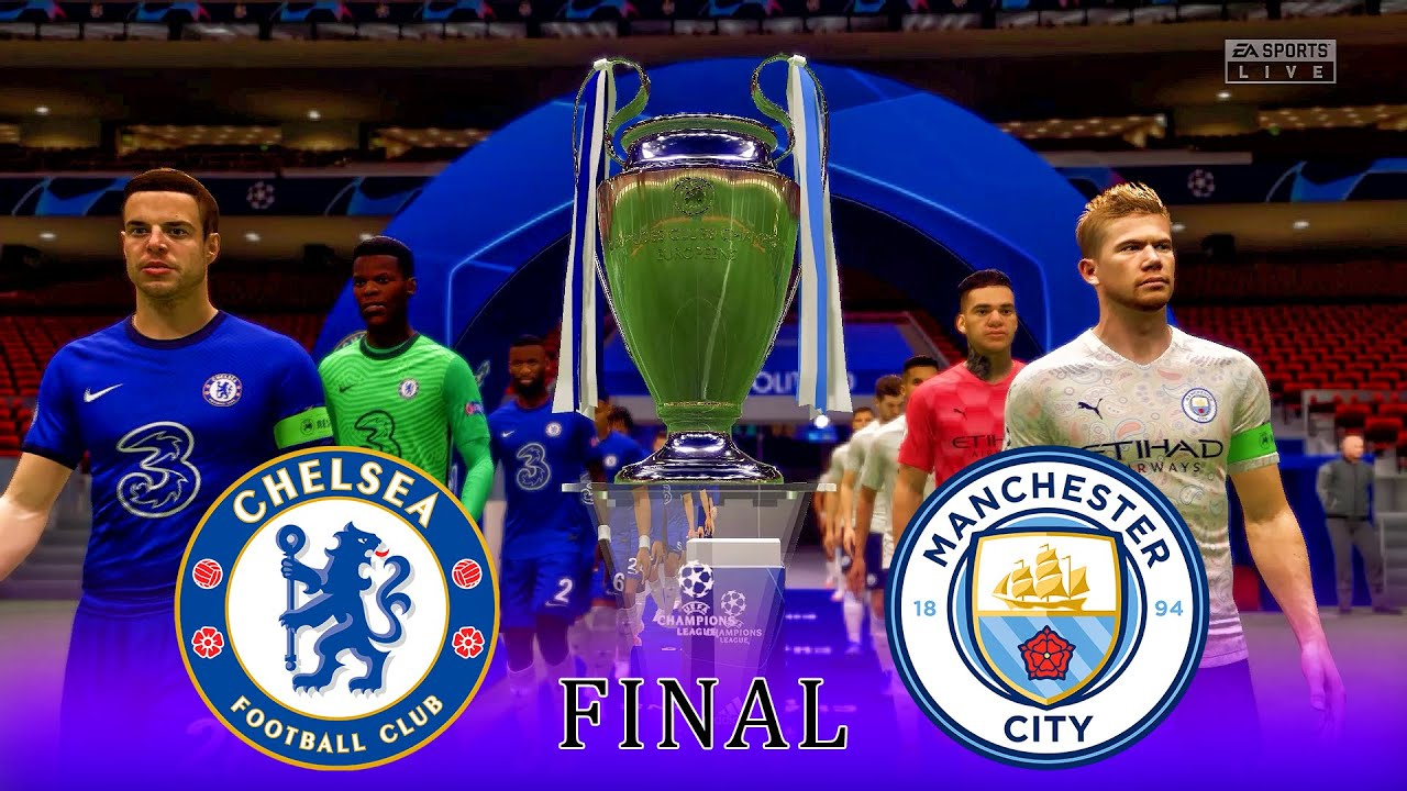 Chelsea vs Manchester City | UEFA Champions League Final 2021 | Gameplay & Full match