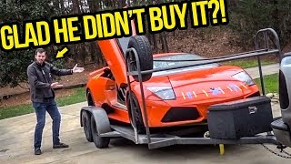 I Showed My Fast & Furious Lamborghini To The Guy That Wanted To Buy It Before I Did (but Didn&'t)