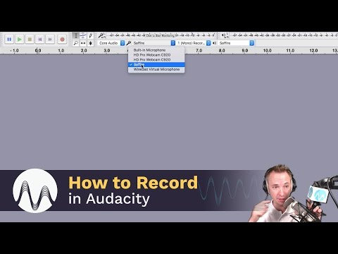 How to Record with Audacity