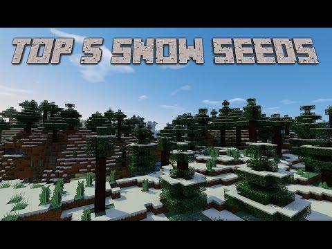 Top 5 Best Snow, Ice Plains Minecraft Seeds 1.9.4, 1.9, 1.8.9, 1.7.10 [2016]