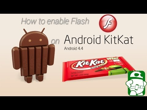 How to enable Flash on Android 4.4 Kitkat (no root required)