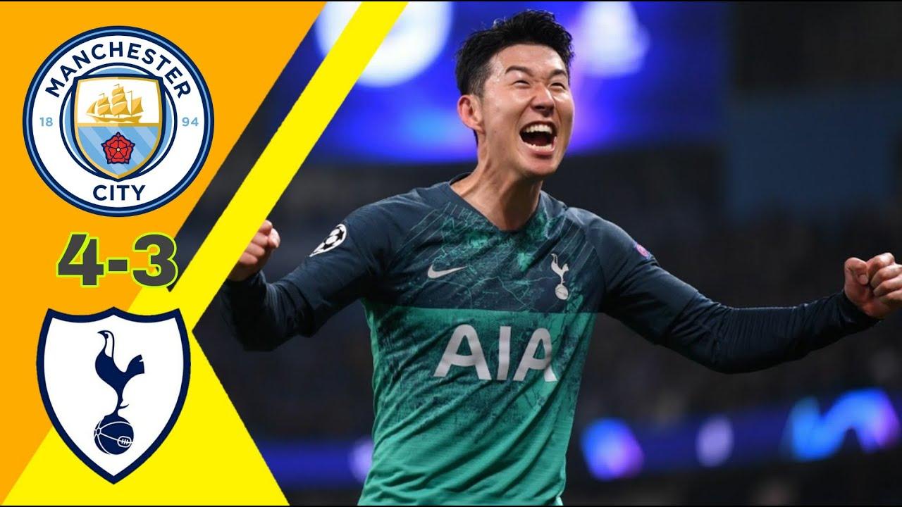 مباراة تحبس الأنفاس/ مانشستر سيتي ~ توتنهام 4-3 دوري ابطال اوروبا 2019 وجنون خليل البلوشي جودة عالية