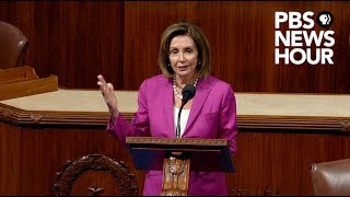 WATCH: Pelosi calls Trump's tweets about congresswomen