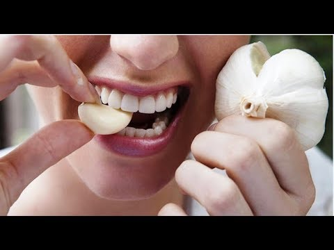 Put a GARLIC CLOVE in your MOUTH for 25 minutes; YOU WILL SEE the results