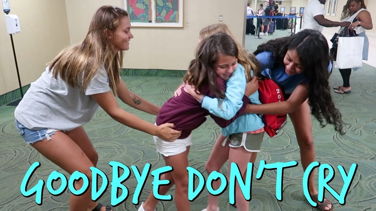 THE SADDEST GOODBYE EVER! TRY NOT TO CRY WITH THIS ONE WHILE THEY SAY GOODBYE!