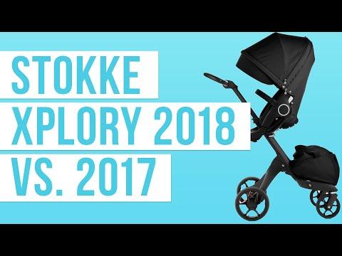 Stokke Xplory 2018 vs. Stokke Xplory 2017 | Stroller Comparison