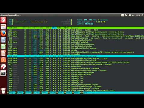 Linux Sysadmin Basics -- 6.2 State, Niceness, and How to Monitor Processes