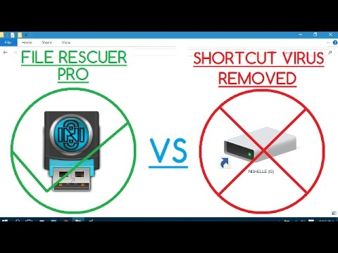 How to Recover Files from Shortcut Virus Infected Flash Drive