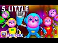 Five Little Monkeys Jumping On The Bed Part 2 The Robot Monk