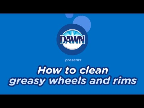 How to Clean Greasy Rims and Wheels
