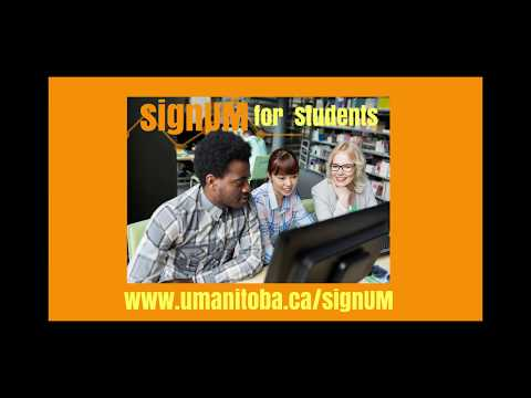 signUM Account Claiming Process for UM Students